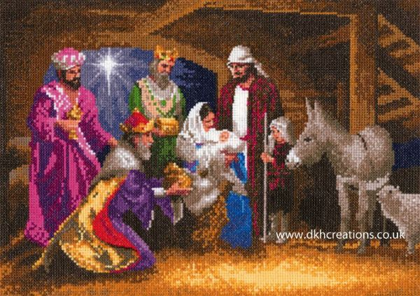 Nativity Cross Stitch Kit
